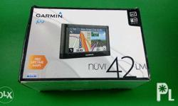 Garmin Nuvi 42LM gps with latest Philippine map. Free