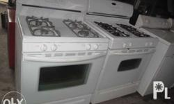 selling gas range oven n electric we have as is and