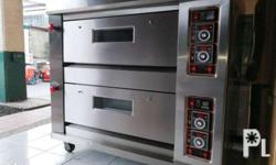 2 deck 4 Trays Gas Oven Model: HLY-204E Power: