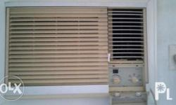 G.E. 1.5hp air conditioner in good condition, well