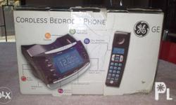 GE Cordless Bedroom Phone *Call Waiting Caller ID