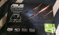 Selling my Geforce GT 730 graphics card 2GB DDR3 for