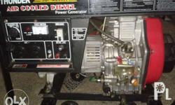 Slightly used 5.5kva diesel engine. New ang engine. But