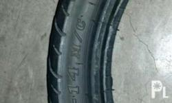 size: 80/90 - 14 M/C 40P . Used with 5 Punctures, Tube