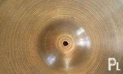 Zildjian A Ride Cymbal 20 inch Made In USA look closely