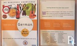 Learn the German Language the Easy Way! Book good as