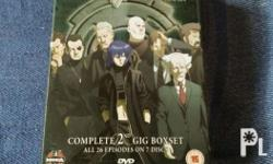 Ghost in the shell DVD 26episodes , in 7disc Txt me
