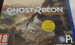 For sale Ps4 games Tom clancys ghost recon wildlands