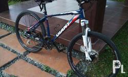 Giant ATX1 2015. Almost brand new. Acera rear. Size: