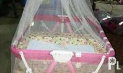 Giant Carrier Multifunctional Crib/Playpen (Pink) *w/