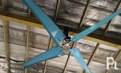 hvls fan mako the cheapest solution to cool down large