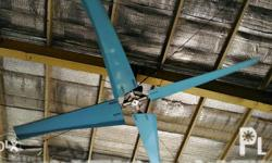 hvls ceiling fan for warehouse, church, mall,