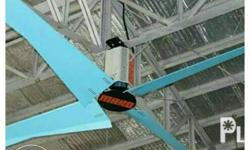 hvls fan and aeratron hvls for church and warehouse