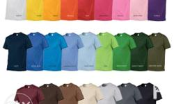 GILDAN Shirts All Colors and Sizes Available! Also