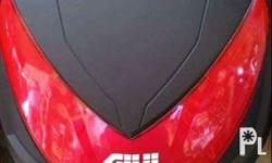 Givi box 30 liters complete set with plate and