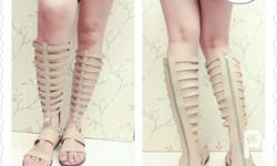 Brand new Gladiator sandals Made of soft PU leather