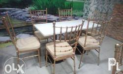 GLAMOROUS with Greater Durability Tiffany Chairs and