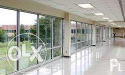 Tempered glass wall and doors Sliding windows and