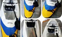 This Kayak was customized for Networx Jetsports. This