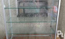 Glass cabinet, in good condition. Best for stores