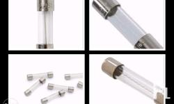 Glass Fuse (medium) Capacity: 1 amp On Stock For orders