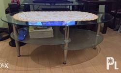 Oval Glass Center Table...Maganda,Di lang po