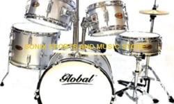 "Bass Drum: 16"" x 11"", Tom Toms: 10"" x 5"" and 8"" x 6"""