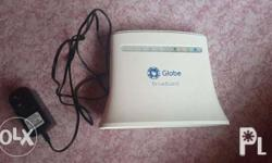 selling my wifi globe router hindi na po ginagamit.3