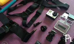 GoPro Hero3 With 2 extra baterries Head and chest
