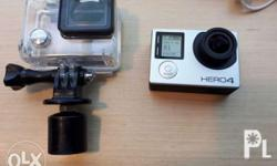 Go Pro Hero 4 Silver edition AUTHENTIC ORIGINAL UNIT