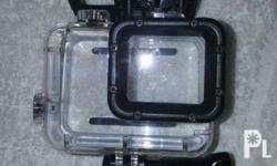 Go PRO hero 5 waterproof casing. I've used this and it