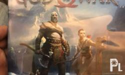 For sale god of war ps4 game