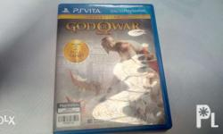 Selling my God of War for ps vita fame cartridge.