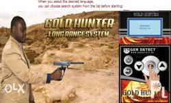 Gold Hunter Device Long Range gold and treasure and