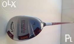 Callaway Diablo Big Berta 5 wood Hybrid, 27 degrees,