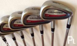 It is a P Wedge to 3 Irons, True temper regular shaft,