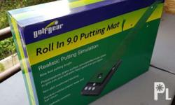 Roll In 9.0 Putting Mat; Realistic Putting Simulation;