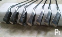 Ping irons Combination of ping eye 2 and ping zing 3 to
