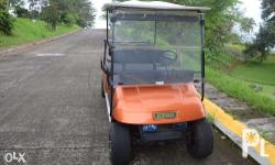 Golf Power Cart EZGO 4 Seater, 4 Cycle Gasoline Engine,