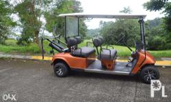 Golf Power Cart EZGO 4 Seater, 2 cycle Gasoline Engine,