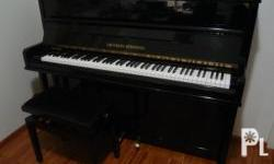 We are selling good quality, perfect tuned used pianos.