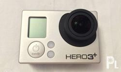 GOPRO 3+ w/ remote and accessories no scratches and