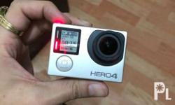 Gopro Hero 4 Silver No memory card included Included