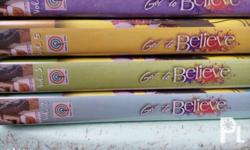 Got to believe dvds volumes 2,3,5 and 6. Original. Used