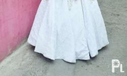 gown and barong for rent 2500
