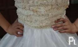 White gown for sale Once lang ginamit for pictorial Fit