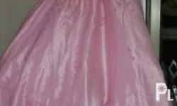 Gown for kids plus size Wear only once Made by Leonard