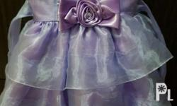 Color purple gown Princess sofia costume for 1-2 years