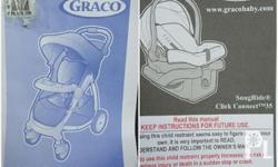 GRACO Stylus Click/Connect Stroller & Car Seat Travel