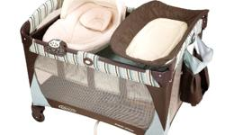 This Graco Pack 'n Play has bassinet and changing